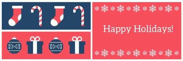 merry christmas happy new year happy holidays