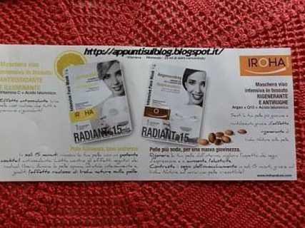 Iroha Nature, maschera di bellezza con vitamina C e acido Ialuronico