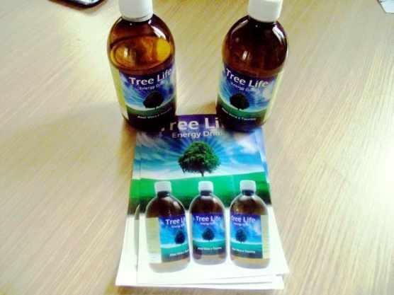 Tree Life bevanda energetica ricca di ingredienti naturali