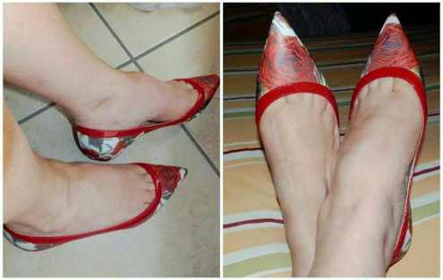 Prosperine, scarpe ballerine made in italy per camminare comodi