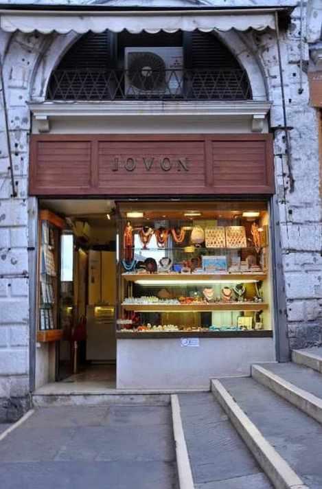 Eredi Jovon, gioielleria a Venezia dal 1934