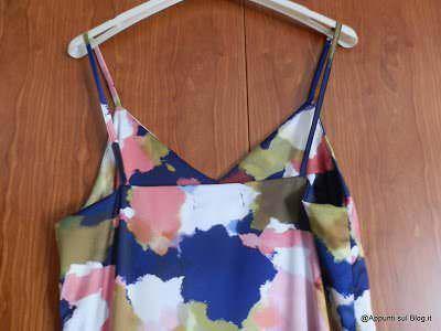 WalkTrendy: mini abito vintage e sottoveste multicolore 6 Moda