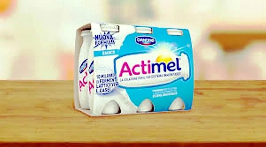 #Actimel di Danone, aiuto valido del sistema immunitario.
