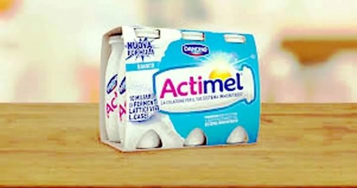 Actimel di Danone, aiuto valido del sistema immunitario.