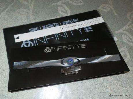 Infinity Pro, braccialetti ionici elimina stress 1 bracciale