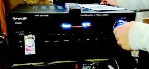 Auna AMP-3800 amplificatore per karaoke