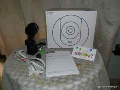 DbPower IP Camera dall'occhio vigile 9 articoli per la casa
