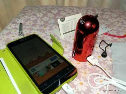 fitTek® EMIE Devil 5200mAh Ultra Compatto Caricatore Portatile red