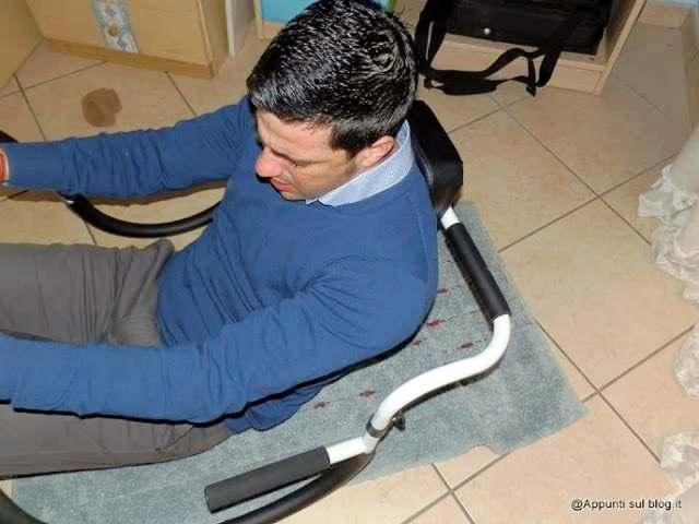 AB-trainer klarfit Trainer attrezzo per addominali