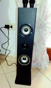 OneConcept: Auna Karaoke Karaboom per piccoli ambienti