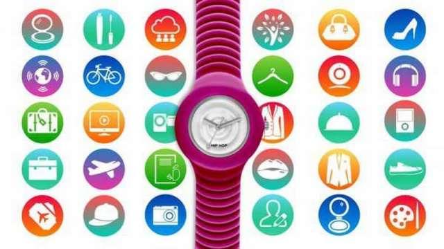 Hip Hop, abbina il tuo look con orologi colorati intercambiabili