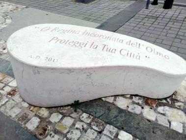 Cava dei Tirreni, piazzale Chiesa Madonna dell'olmo