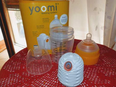 Yoomi, il biberon autoriscaldante che riscalda il latte in 60 secondi