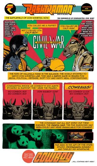 07 Oct.2016 Rashtraman vs. Cowboy: Civil War