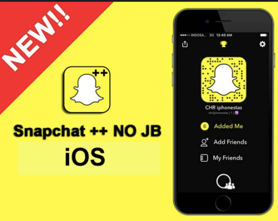 Download SnapChat++ on iOS 12/11+ iPhone/iPad No Jailbreak (AppValley)