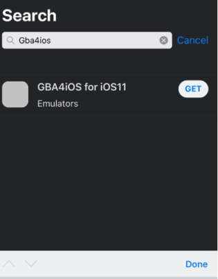 Search GBA4iOS - AppValley