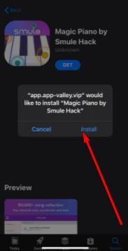 Install Magic Piano Hack (VIP Free) on iOS