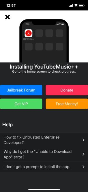 Install YouTube++ App | AppValley