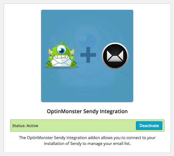 OptinMonster Sendy Integration