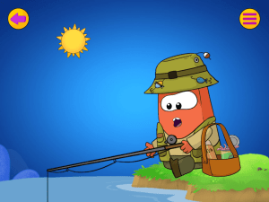 Educational App Cappy Fishing Screenshot