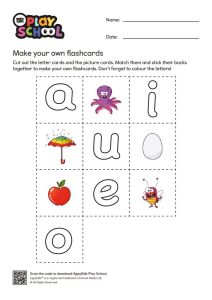 thumbnail of AppyKids Play School Vowel Flashcards