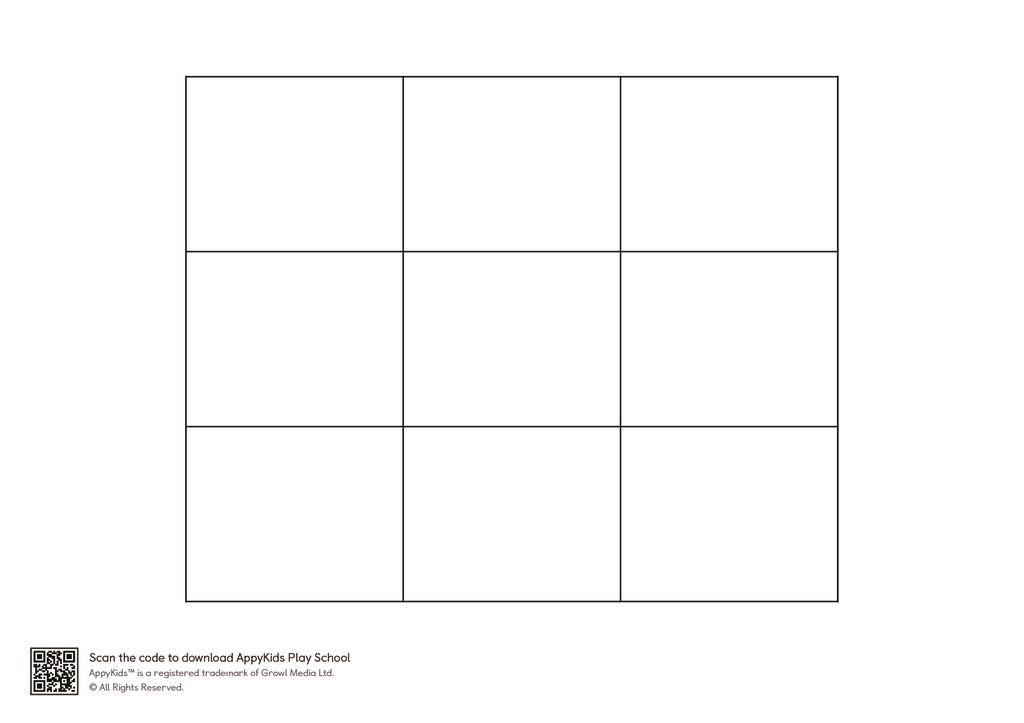thumbnail of Play School Tic Tac Toe Grid