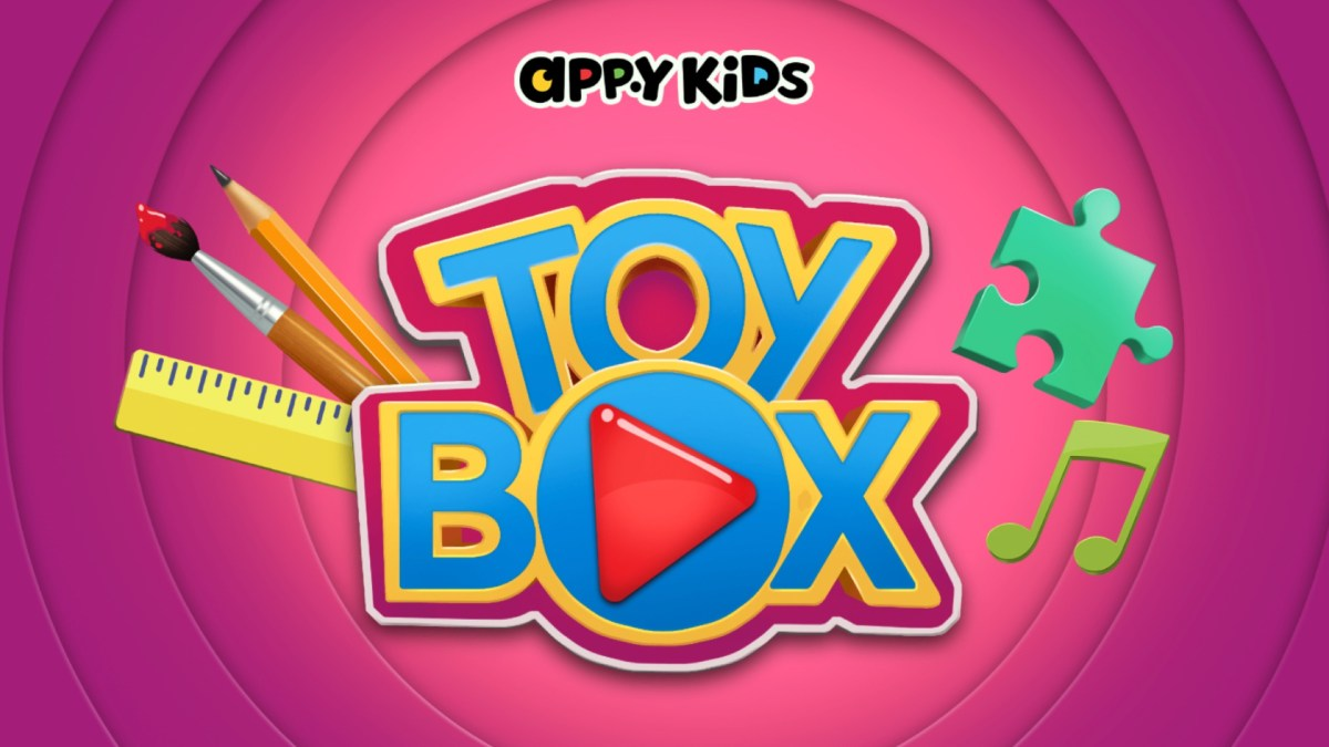 AppyKids Toy Box - Preschool iPad app of Games for Kids