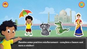Screenshot Alifes Hindi Alphabet stickers