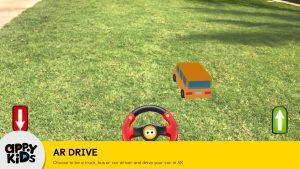 Preschool iPad app of Games for Kids Bus Driver AR