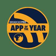 Award Broadcast Pro Magazine App of the Year Badge