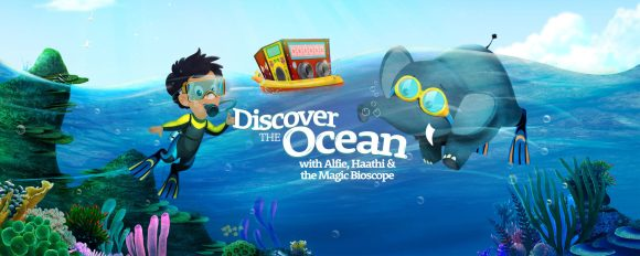 Featured Alfie and Haathi Discover the Ocean