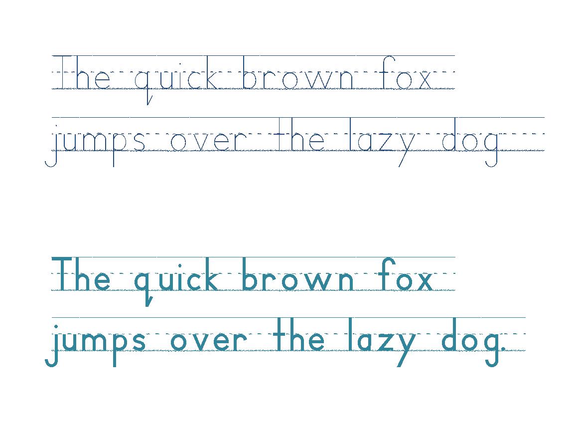 Handwriting Heroes Font