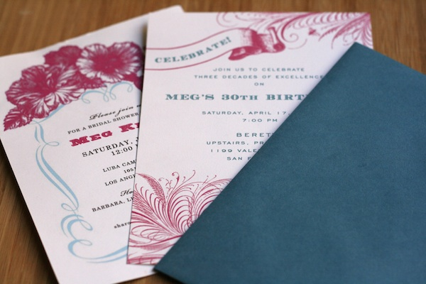 How To Print Your Own Wedding Invitations