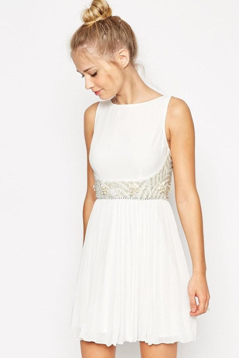 40 White-Hot Cocktail Dresses for All Your Wedding Needs - crazyforus
