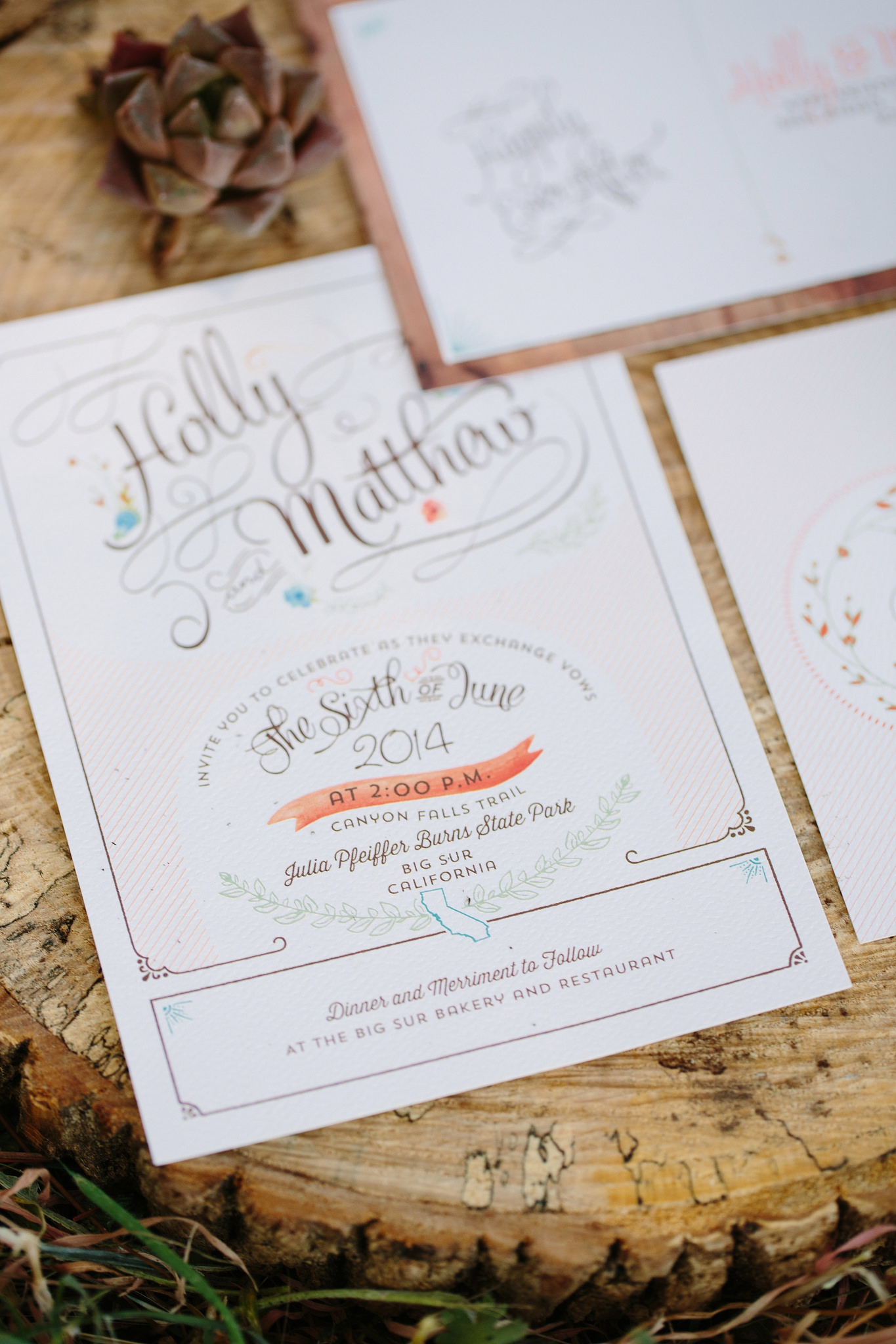 Amazing Save Date Cards