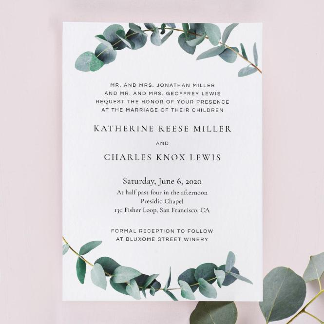 Wedding Invitation Wording Examples In Every Style A