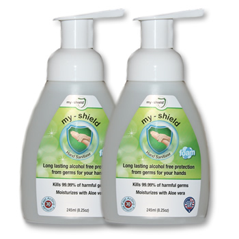 2 Pack My Shield Hand Sanitizer 8 Oz 245 Ml Apr Bio