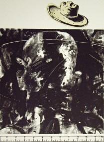 Atmoshead, 1994; Intaglio, relief; Image: 22 3/4 x 17 1/2 inches