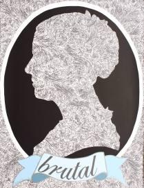 Portrait II, 2006; Screen print; Image: 29 x 22 inches
