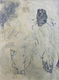 Untitled, 2009; Monotype; Object size: 30 x 22 inches < previous