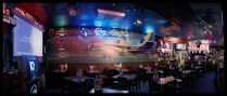 Crop Duster Mural, Caprock Cafe, Lubbock, TX , 2005; Archival pigment print; Object size: 558 x 1236
