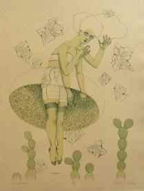 Hergatory; Lithograph; Image Size: 462 x 339
