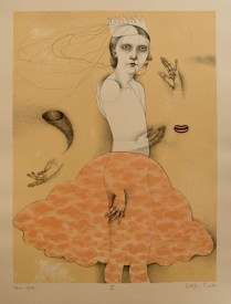 Ever After; Lithograph; Image Size: 442 x 328