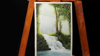 03- cascada al oleo