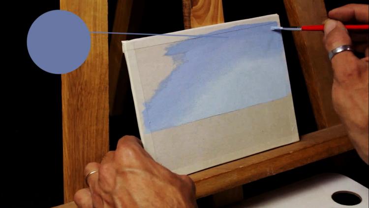 técnica para pintar