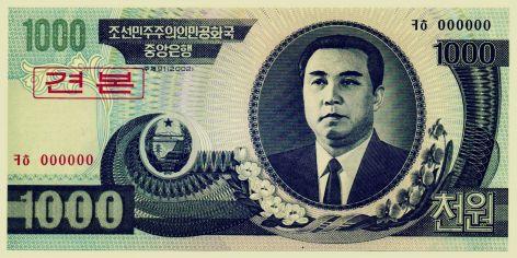 billete norcoreano