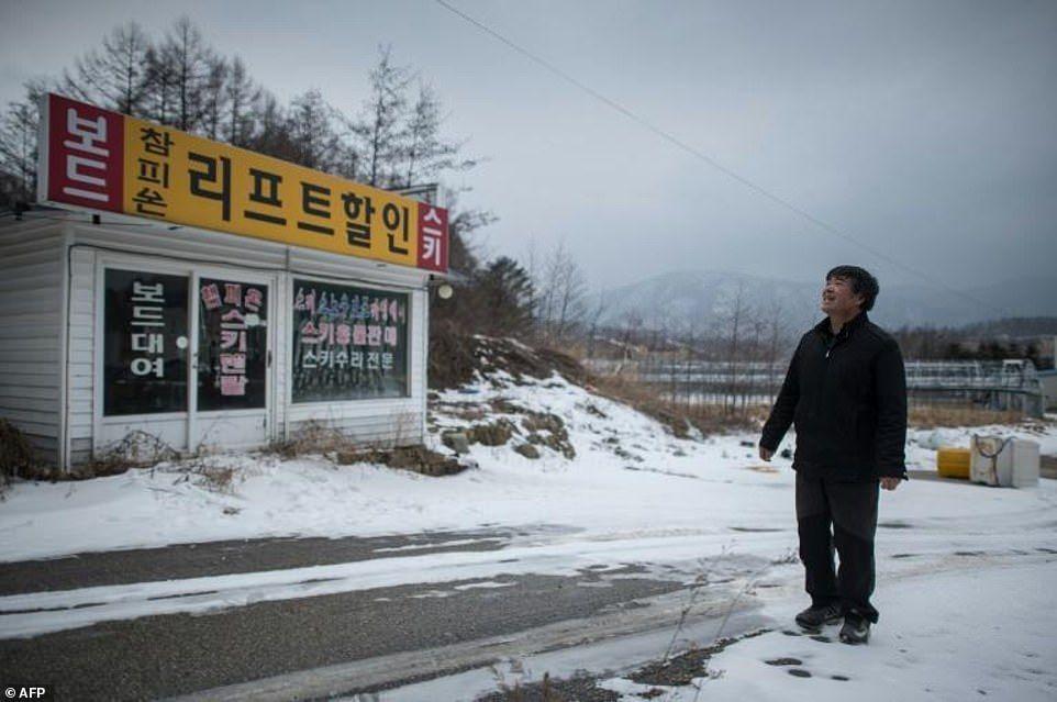 Estación de esquí ABANDONADA de Corea del Sur