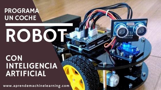Programa un coche Arduino con Inteligencia Artificial