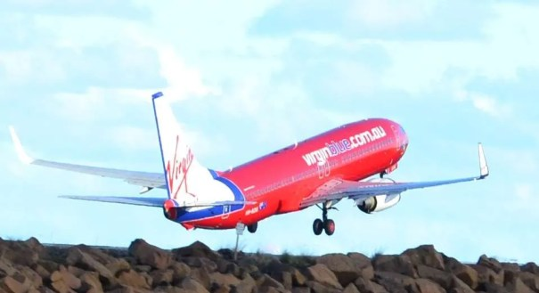 virgin blue 737 by simon clancy on flickr