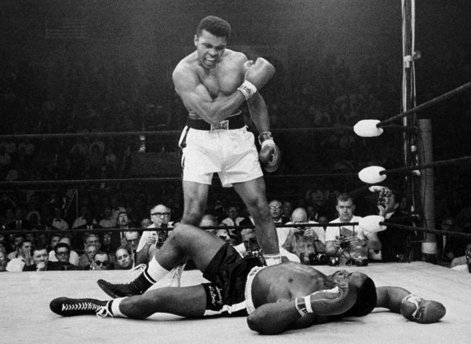 Muhammad Ali, uno de mis grandes heroes. La película con Will Smith vale la pena.